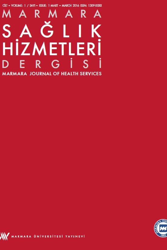 Marmara Sağlık Hizmetleri Dergisi