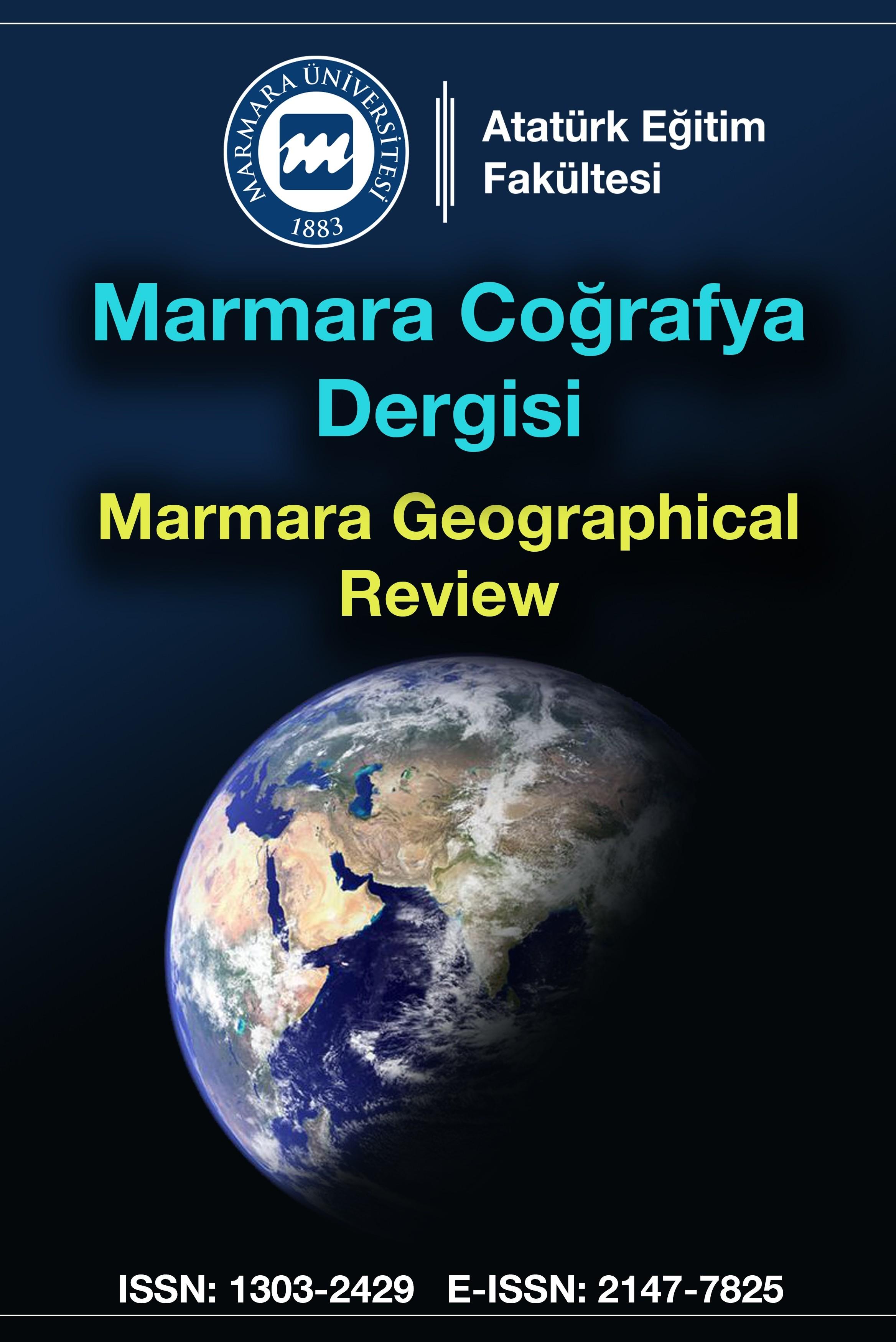 Marmara Coğrafya Dergisi