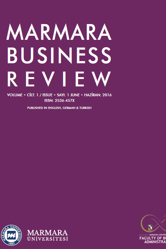Marmara Business Review
