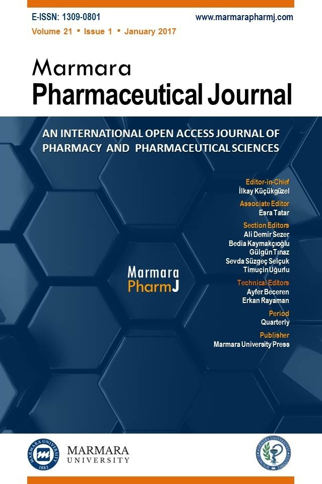 Marmara Pharmaceutical Journal