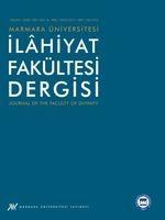 Marmara Üniversitesi İlahiyat Fakültesi Dergisi